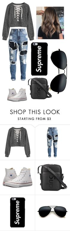 """""""***"""" by t0ri14 on Polyvore featuring Converse and Louis Vuitton"""