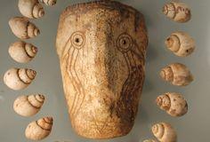 SOLD! Weeping Eye Shell Mask, Etowah Mounds, GA