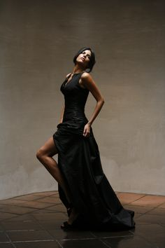 Evening wear! #LesHabitudes #EveningWear #redcarpetready #beauty