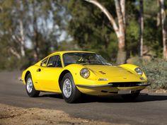 1970 Dino 246 GT | L-series | V6, 2,418 cm³ | 195 bhp | Design: Aldo Brovarone, Pininfarina | Built by Scaglietti