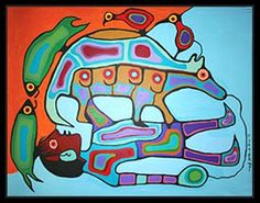 >>> Norval Morrisseau Facts, Articles & Art: Multiple Transfiguration by Norval Morrisseau Native American Artists, Canadian Artists, Haida Art, Inuit Art, Famous Art, Mexicans, Spring Art, Indigenous Art, Art Themes