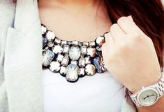 I need a statement necklace to brighten up any plain outfit