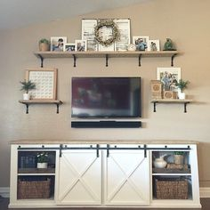 Ana White | Build a Grandy Sliding Door Console | Free and Easy DIY Project and Furniture Plans