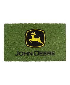 john deere scenic floor rug for children