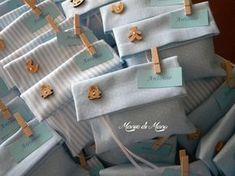 Bustine in pique porta confetti, ideali per battesimo e annuncio nascita