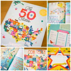 The 50 States: a whimsical atlas for kids that you won't be able to keep your hands off of