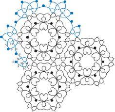 Heart Doily by Iris Niebach... free pattern