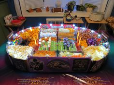 The birth of a snack stadium with lights!!!