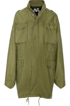 NLST Desert M65 oversized hooded cotton jacket | NET-A-PORTER