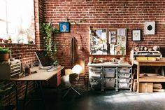 Melanie Abrantes Designs' Industrial Jungle Studio in Oakland — Creative Space Tour | Apartment Therapy