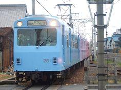 ☆039:近鉄内部線・泊駅-四日市行き(モ261+サ121+ク161)接近