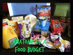 Confessions of an ADD Housewife: Anatomy of a food budget