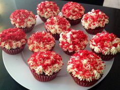 Red Velvet Cupcakes by Sweet Haven