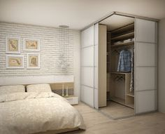 Schlafzimmer hálószoba em 2019 home bedroom, bedroom wardrob Bedroom Closet Design, Closet Designs, Home Bedroom, Bedroom Decor, Bedrooms, Bedroom Corner, Bedroom Designs, Bedroom Ideas, Corner Wardrobe
