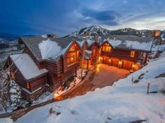 Park City, UT - For sale: $14.5 million -  Yahoo Homes of the Week: Homes on the slopes | Spaces - Yahoo Homes