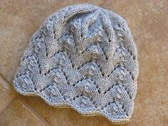 Ravelry: Fishtail Hat pattern by Gail Bable, Free Pattern Worsted Weight Worsted / 10 ply wpi) ? 16 stitches = 4 inches in largest needles, adult size Needle size US 6 - mm US 7 - mm US 8 - mm hat kids ravelry Fishtail Hat Baby Hat Knitting Pattern, Baby Hat Patterns, Baby Hats Knitting, Arm Knitting, Knitting For Kids, Knitting Patterns Free, Knit Patterns, Free Pattern, Small Knitting Projects