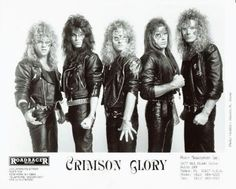 Crimson Glory - great band even though the masks were kinda goofy.