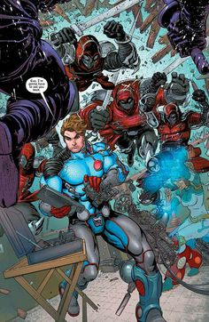 """Images for : Marc Guggenheim Gets Reckless with Concepts in """"The Infinite Adventures of Jonas Quantum"""" - Comic Book Resources"""