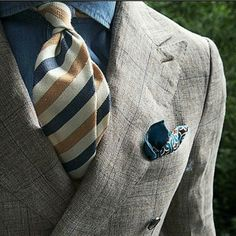 barber pole necktie