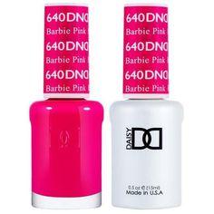 Barbie Pink Nails, Pink Gel Nails, Gel Nails French, Pink Nail Polish, Gel Manicures, Dnd Gel Polish, Gel Polish Colors, Gel Color, Magenta