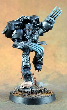 Warhammer 40k | Space Marines Raven Guard | Edryc Setorax #warhammer #40k #40000 #wh40k #wh40000 #warhammer40k #gw #gamesworkshop #wellofeternity #miniatures #wargaming #hobby #tabletop