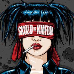 From the Skold vs KMFDM album. Listening To Music, My Music, Music Life, Amazon Image, Industrial Metal, Industrial Music, Music Photo, Post Punk, Jimi Hendrix