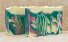 A soap for all seasons. Organic, premium soap, with the scent and colors To match the season. Beauty from the color of the trees with the sparkling lights. Topped with  a sparkling mica dusting, reminiscent of moonlight casting a shine. A wonderful scent of nature, from the crisp winter air, to the cranberries and Fir trees. Four seasons bundled into a bar of soap. Scented to remind us of the wonderful aromas from our childhood. Although I created this bar during the Winter season, your skin…