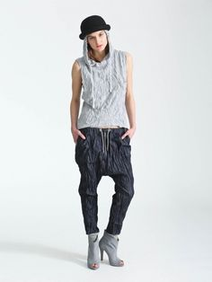 _CRASH_denim trousers II00001