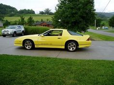 1987 Camaro Iroc-z Yellow Related Keywords & Suggestions - 1987 ...