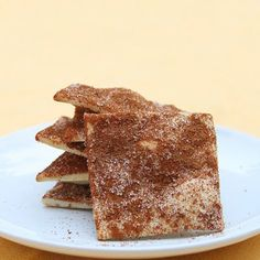 Homemade cinnamon and sugar crackers