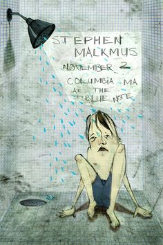 Stephen Malkmus & The Jicks concert poster by Taylor Williams  holy awesome