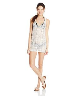 c3b4fb179c Roxy Juniors Lacy Days Diamond Cover Up Dress Sea Spray XLarge >>> Learn  more by visiting the image link. (It is an affiliate link and I receive  commission ...