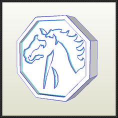 Jackie Chan Adventures - Horse Talisman Free Papercraft Download - http://www.papercraftsquare.com/jackie-chan-adventures-horse-talisman-free-papercraft-download.html