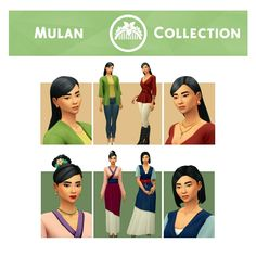 Mulan Collection by SimpleSimmer: Outfits, Accs, Acc Jackets & more [ [ [ Neo Grunge, Grunge Style, Soft Grunge, Geek Girl Fashion, Fashion 90s, Fashion Styles, Fashion Women, Fashion Outfits, Fashion Clothes