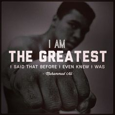 Success is more of attitude rather than aptitude.... Muhammad Ali proved that a lot earlier.....
