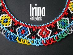 Hand-made by Irina Haluschak: Силянка кольорова (кольє)