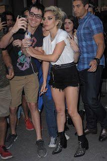 FOTOS HQ: Lady Gaga dejando el estudio Electric Lady Nueva York (Septiembre 16) | Hey Lady Gaga