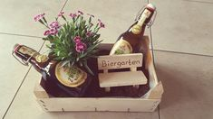 Beer garden gift Kathrin E Diys, Garden Gifts, Root Beer, Diy Gifts, Cot Mattress, Latest Images, 5th Birthday, Origami, Stress