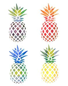 I don't know why, I just LOVE pineapples!