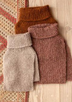 Knitting Designs, Knitting Patterns Free, Knit Patterns, Knitted Washcloths, Knitted Hats, Chunky Knitwear, Knit Fashion, Knit Crochet, Turtle Neck