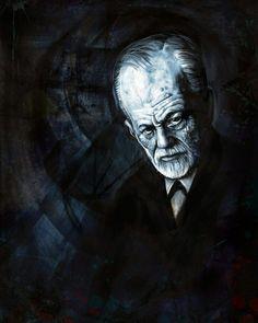 Sigmund Freud, by Bob.