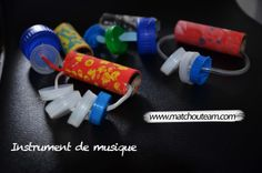 www.matchouteam.com En avant la musique | Un nouvel instrument pour partir à la découverte de nouveaux sons Music Instruments Diy, Instrument Craft, Homemade Musical Instruments, Outdoor Activities For Kids, Music Activities, Music For Kids, Diy For Kids, Haruki Murakami Quotes, Celebration Quotes
