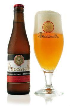 Coccinelle is an ABV Belgian Tripel beer. Coccinelle, which is French for ladybird, is available via Huisbrouwerij Krico. Beer Brewing, Home Brewing, Beers Of The World, More Beer, Belgian Beer, Beer Company, Beer Brands, Beer Packaging, Beer Label