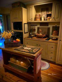 Prim Decor, Country Decor, Rustic Decor, Primitive Decor, Primitive Kitchen, Rustic Kitchen, Primitive Country, Kitchen Redo, Kitchen Remodel