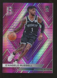 011e4cd97 You are bidding on a Panini Spectra D Angelo Russell Neon Green Prizm Los  Angeles Lakers Brooklyn Nets Don t miss out on this great card!
