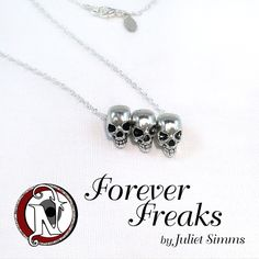 Image of Silver Forever Freaks NTIO Necklace by Juliet Simms