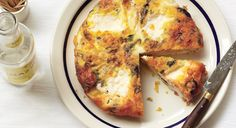 Onion Frittata - Great, especially with a few extra herbs than what the recipe says and also some garlic