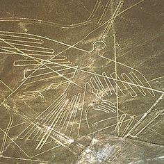 In Perù, nel deserto di #Nazca, 13.000 linee formano più di 800 disegni. Il colibrì è uno dei geoglifi più famosi: la distanza tra gli estremi delle sue due ali è di 66 metri ed è lungo 94 metri.