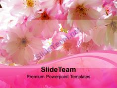 Blossoms Beauty Nature PowerPoint Templates PPT Themes And Graphics 0213 #PowerPoint #Templates #Themes