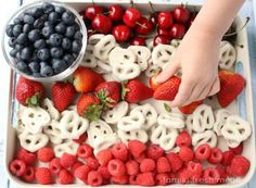 4th of july recipes red white and blue